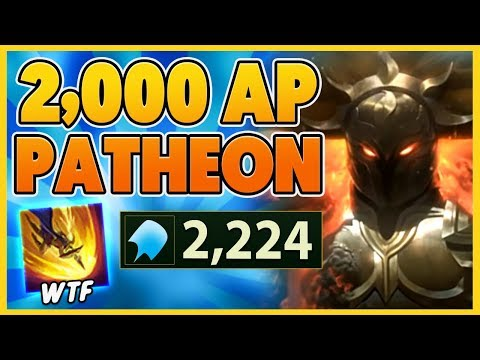 *2224 AP* WORLDS FIRST AP PANTHEON PENTAKILL (MUST SEE TO BELIEVE) - BunnyFuFuu