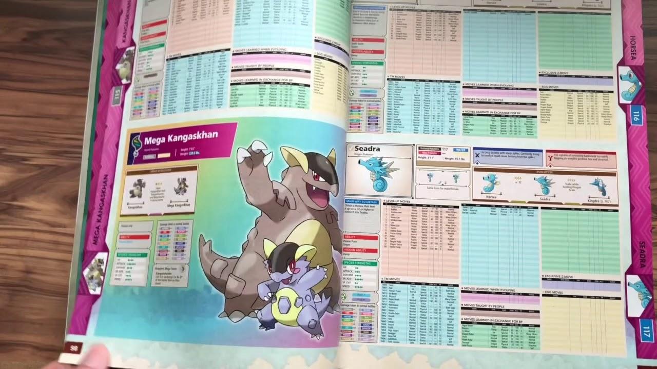 Pokemon Ultra Sun /& Pokemon Ultra Moon Edition The Official National Pokedex