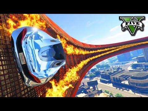 GTA V Online: O NOVO WALLRIDE de FOGO mais ÉPICO do GTA!