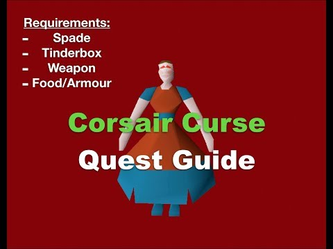 OSRS | The Corsair Curse Quest Guide | Full Detail 2007 Quest Guide