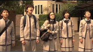 『表参道高校合唱部!』第2話の名場面「翼をください」の曲をスライドに...
