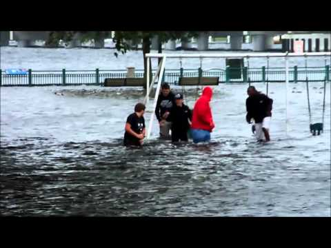 Flooding in and around New Bern Oct 5th 2015