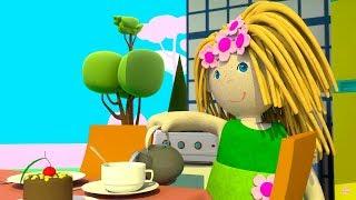 Кукольный домик - Мультики для девочек - На кухне у Бьянки