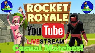 Rocket Royale - Live Stream!! (Viewer Games!! 😱)