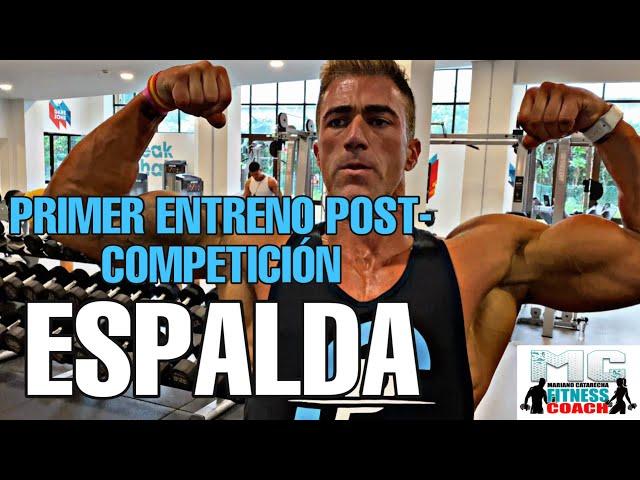 Primer Entreno Post Competición (ESPALDA)