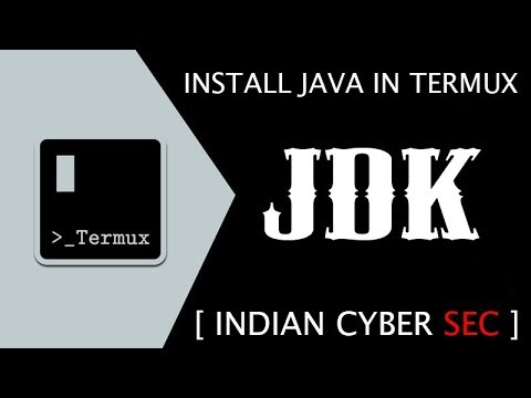 JDK || Install [ JAVA ] In Termux Without Root