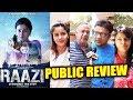 Raazi PUBLIC REVIEW | First Day First Show | Alia Bhatt, Vicky Kaushal