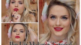 1950's Pin Up Makeup Tutorial ♡
