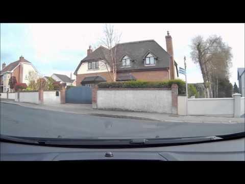 Driving test routes Limerick, Castlemungret 3.
