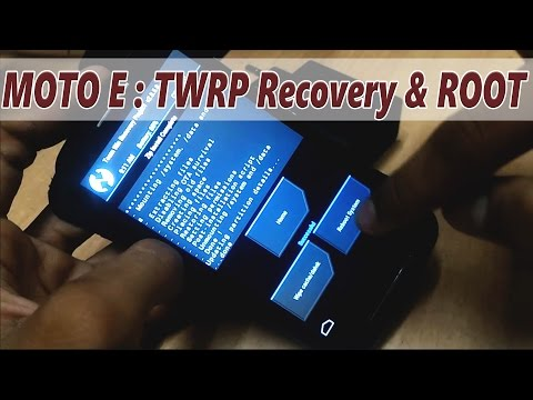 Part 2 : How to Install TWRP Recovery and Root MOTO E (1st Gen)