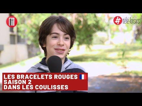 Les Bracelets rouges dans les coulisses du tournage de la saison 2 | Télé Loisirs