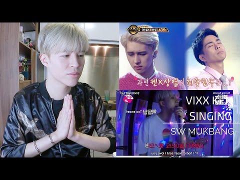 SW reaction ▶ VIXX KEN SINGING COMPILATION丨DUET M2 KARAOKE