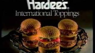 "Video 1988 Hardees Restaurant Commercial ""International Toppings"" download MP3, 3GP, MP4, WEBM, AVI, FLV Januari 2018"