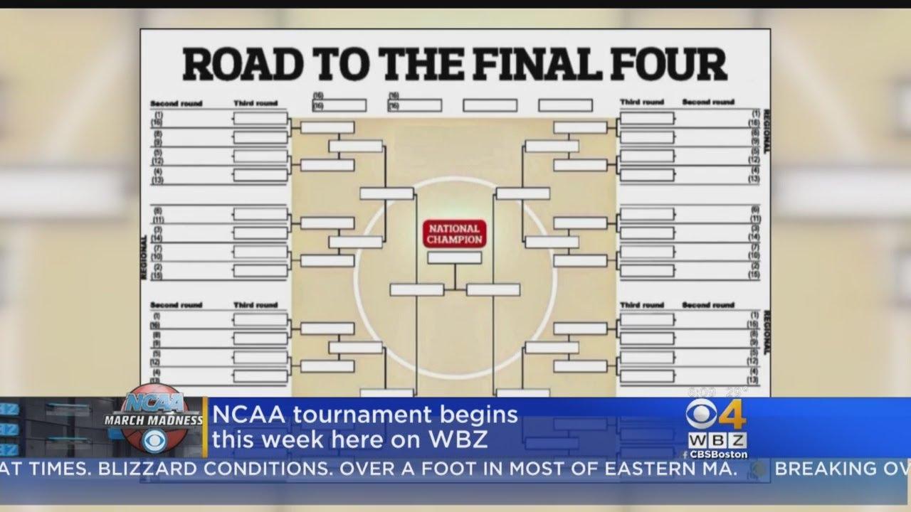 NCAA Tournament Bracket Set