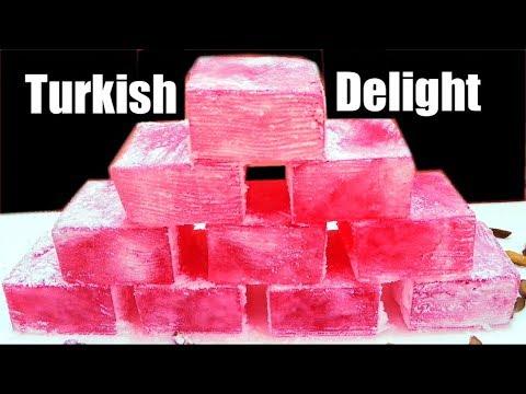 बनायें एक नए तरह की मिठाई जिसका स्वाद महीनो तक रहेगा याद /Turkish Delight /Sweet Recipe Of Narnia