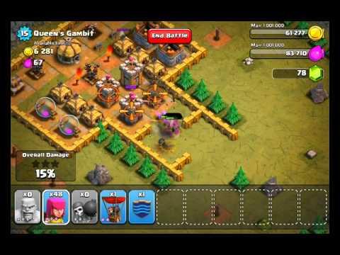Clash Of Clans Level 32 - Queen's Gambit