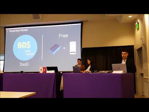 Imagine Cup 2017- Business Pitch, Seattle USA
