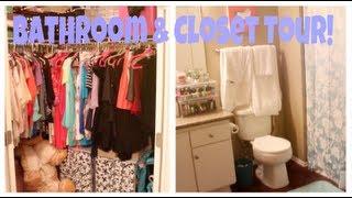 Bathroom & Closet Tour | Meghanrosette
