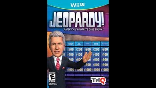 Nintendo Wii U Jeopardy! Game #1