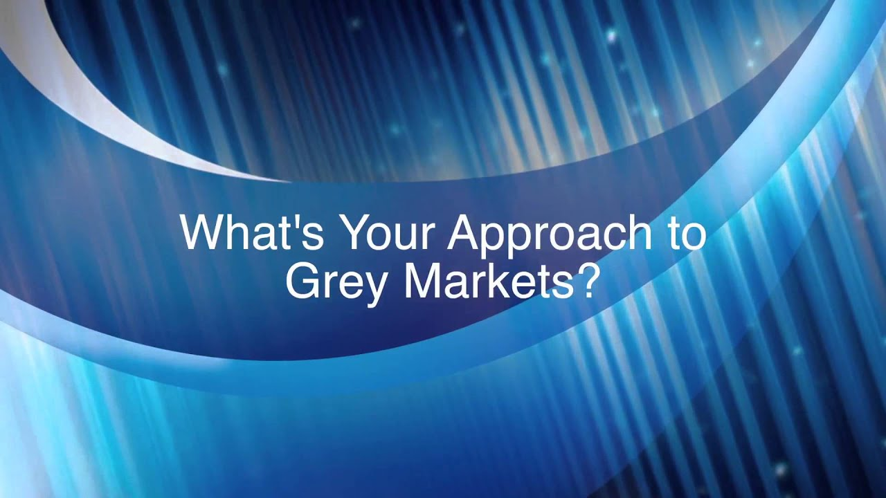 Trading Communities and Grey Markets