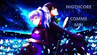 Nightcore - Comme moi [Black M ft Shakira]