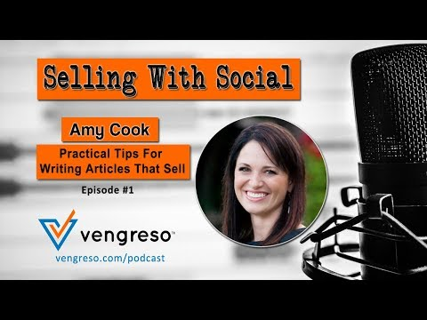 Practical Tips For Writing Articles That Sell with Amy Cook, Episode 1