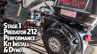 Stage 1 Performance Kit on Predator 212 | Tutorial