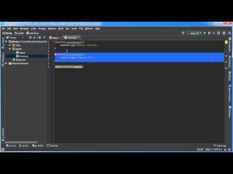 Node.js Tutorial for Beginners - 8 - Modules