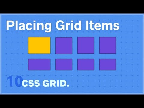 CSS GRID: Placing Grid Items — 10 Of 25