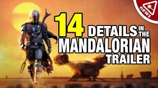 14 Details Revealed in The Mandalorian Trailer! (Nerdist News w/ Jenny Lorenzo)