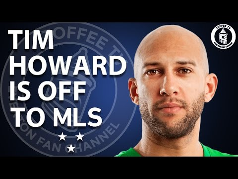 Tim Howard Is Off To Major League Soccer