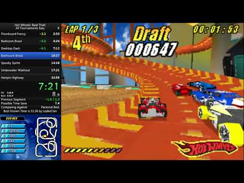 Hot Wheels: Beat That! All Tournaments Easy speedrun - 32:38