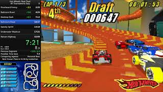 Hot Wheels: Beat That! All Tournaments Easy speedrun - 32:38