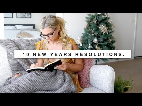 10 New Years Resolutions | Get Organized in 2019