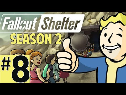 Fallout Shelter Lets Play Episode 8 [Vault 112 High School] (Season 2 IOS Gameplay)