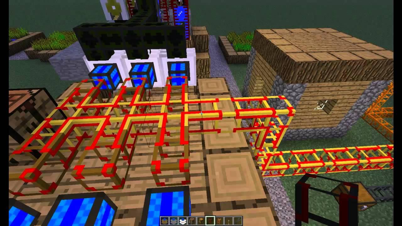 Minecraft Buildcraft Tutorials: How to use Conductive Pipes - Dormphood
