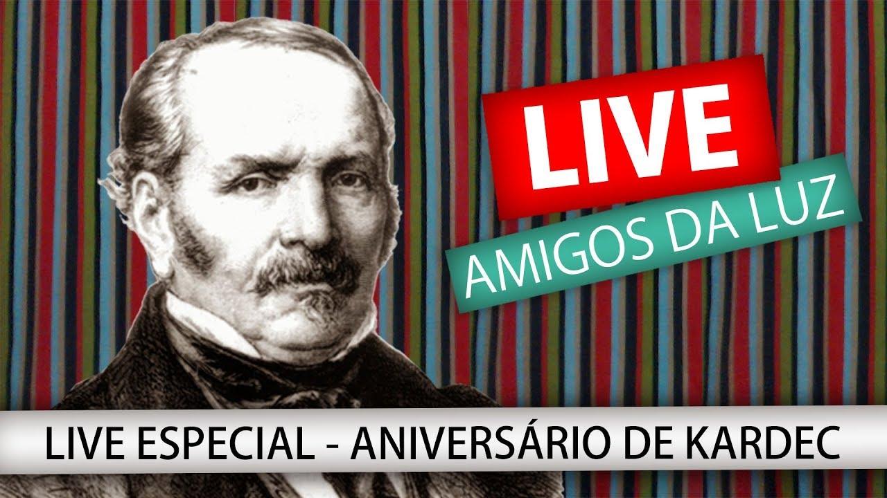 LIVE ESPECIAL - ANIVERSÁRIO DE KARDEC