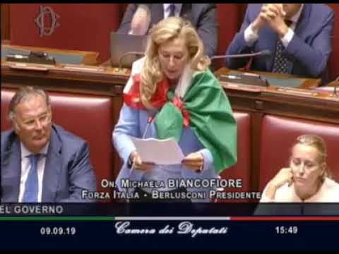 L'intervento dell'onorevole Michela Bianco...