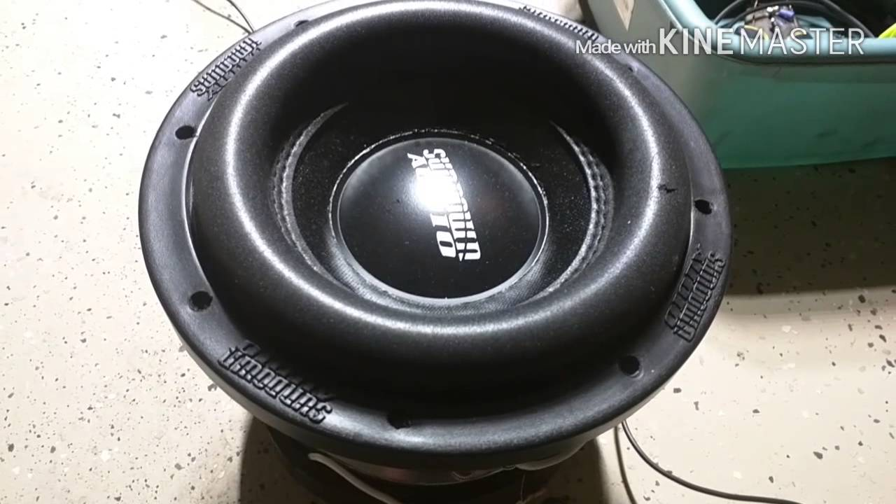How to make a subwoofer box louder!