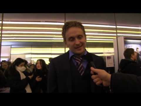 Hansel and Gretel: Witch Hunters - Red carpet interview wtih Tommy Wirkola