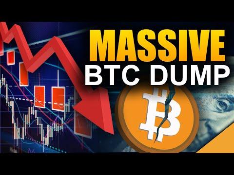 MASSIVE Bitcoin Dump (#1 New BTC Price Target)