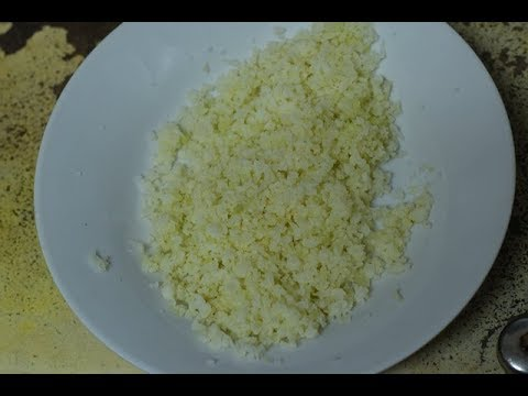 Cauliflower Rice | Paleo | Keto