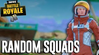 Playing Random Squads - Fortnite Battle Royale Gameplay - Ninja thumbnail