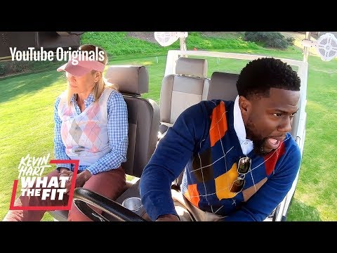 Country Club Activities With Chelsea Handler And Kevin Hart