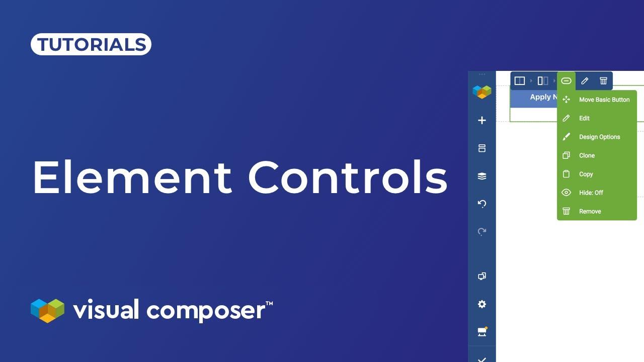 Element Controls - Visual Composer Website Builder