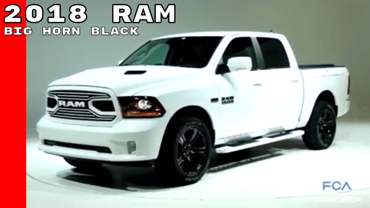 2018 dodge big horn. interesting big 2018 ram 15002500 sport u0026 big horn black pickup trucks on dodge big horn