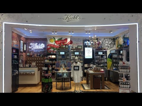 Checking out Kiehl's Beauty Store inTryano, Yas Mall, Abu Dhabi, UAE