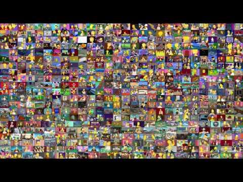 554 Episodi dei Simpsons ... in un'unica schermata!