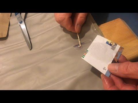 repairing-hole-in-vinyl-air-mattress-using-5-minute-epoxy