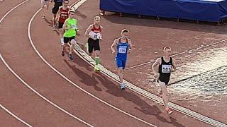 800 м - 1.54,98!!! Артём Долганов очень сильно удивляет тренера, а заодно ставит личку и побеждает!